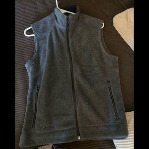 Women's Columbia Fleece Vest Zip Up M